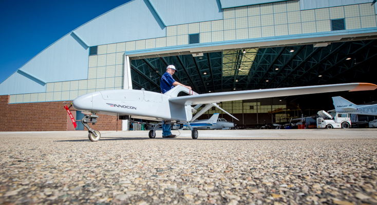 Australia's first Unmanned Aerial Systems (UAS) maintenance